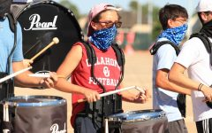 This year, senior percussionist Baxter Fry became one of four All-State band musicians.